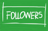 Followers — Stock Photo