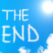 The End — Stock Photo
