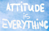 Attitude is Everything — Stockfoto