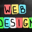 Web Design — Foto Stock