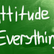 Attitude is Everything — Stock Photo #32178799