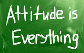 Atitude é tudo — Fotografia Stock