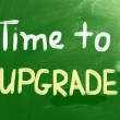 Time To Upgrade Concept — Stock Photo