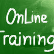 Online Training Concept — Stock Photo