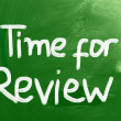 Time For Review Concept — Stock Photo #32655055