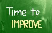 Tijd om begrip te verbeteren — Stockfoto