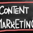 conceito de marketing de conteúdo — Foto Stock