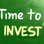 Zeit, Konzept zu investieren — Stockfoto