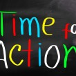 Time For Action Concept — Stock Photo #33037829