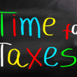 Time For Taxes Concept — Stock Photo #33038057