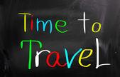 čas na cestování koncept — Stock fotografie