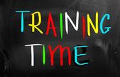 Concepto de tiempo de entrenamiento — Foto de Stock
