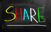 Compartir el concepto — Foto de Stock