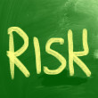Risk Concept — Stock Photo