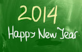 Happy New Year 2014 Concept — Stock Photo