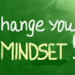 Stock Photo: Change Your Mindset Concept