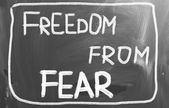 Freedom From Fear Concept — Stock Photo