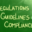 Stock Photo: Compliance Guidelines Regulations Concept