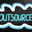 Outsourcing Concept — Stock Photo