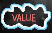 Základní hodnoty koncept — Stock fotografie