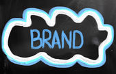 Brand Concept — Foto de Stock