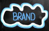 Concetto di marca — Foto Stock