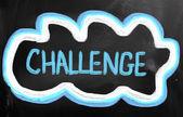 Koncepcja wyzwanie — Zdjęcie stockowe