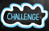 挑战概念 — 图库照片