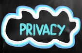 Privacy Concept — Stockfoto