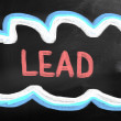 Stock Photo: Lead Concept