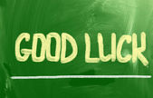 Good Luck Concept — Foto de Stock
