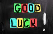 Conceito de boa sorte — Foto Stock