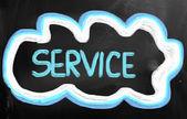 Service Concept — ストック写真