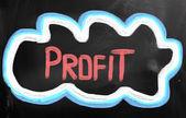 понятие прибыли — Стоковое фото
