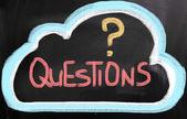 質問の概念 — ストック写真