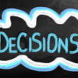 Stock Photo: Decisions Concept