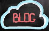 Blog kavramı — Stok fotoğraf