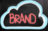 Branding-Konzept — Stockfoto