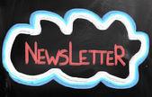 Newsletter Concept — Stock Photo