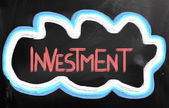 Investeringar koncept — Stockfoto