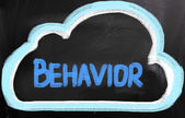 Behavior Concept — Stock Photo