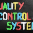 Quality Control System Concept — Stock Photo
