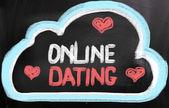 Online-dating-konzept — Stockfoto