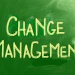 Change Management Concept — Stock Photo