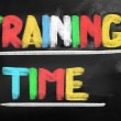 Stock Photo: Training Time Concept