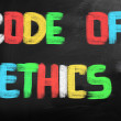 Code Of Ethics Concept — Stock Photo