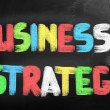 Stock Photo: Business Strategy Concept