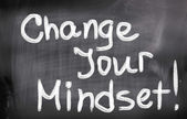 Change Your Mindset Concept — Stock Photo