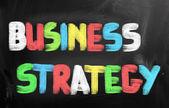 концепция стратегии бизнеса — Стоковое фото