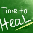 Time To Heal Concept — Stock Photo